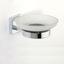 Glide Glass Soap Dish & Holder