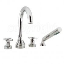 Totti 4 Hole Bath Shower Mixer