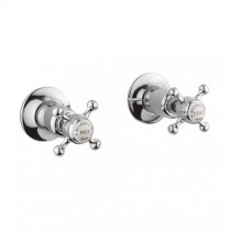Crosswater Belgravia Crosshead Wall Mounted Side valves