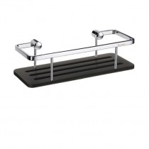 Sideline Straight Soap Basket Black Base