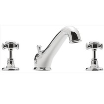 Knightsbridge 3 Hole Deck Mounted Basin Mixer