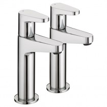 Quest Eco High Neck Pillar Taps