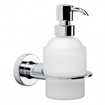 Tecno Project Wall Mounted Glass Soap Dispenser