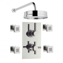 Tec Shower With Diverter, Tec Head and Body Jets