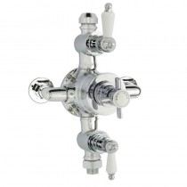 Beaumont Triple Exposed Shower Valve