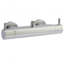 Minimalist Lever Bar Shower Top and Bottom Outlet