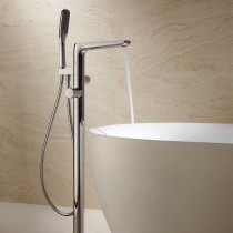 Allore Floor Thermostatic Bath Shower Mixer