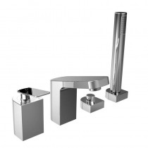 Alp 4 Hole Bath Shower Mixer