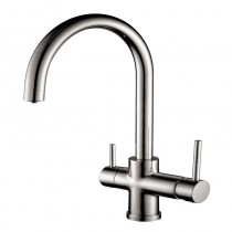 Aquarius Mixer and Cold Filter With C Swivel Spout