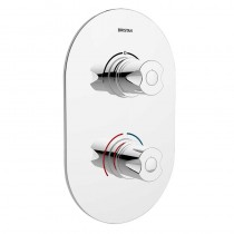 Artisan Thermostatic Recessed Shower Valve with Diverter