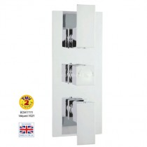 Art Twin Shower Valve with Diverter