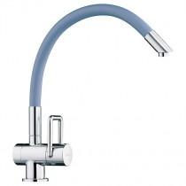 Arwa Twinflex Kitchen Mixer with Flexible Spout Blue