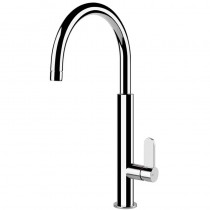 Aspire Monobloc Mixer With Swivel C-Spout Chrome