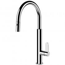 Aspire Mixer With Swivel C-Spout Pull Out Spray Chrome