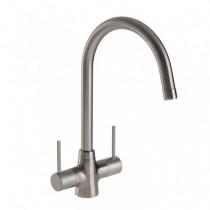 Nexa Monobloc Sink Mixer Brushed Nickel