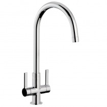 Pico Monobloc Sink Mixer Chrome