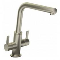 Estimo Monobloc Sink Mixer Brushed Nickel