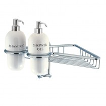 Solo Wire Basket Single with Dispensers