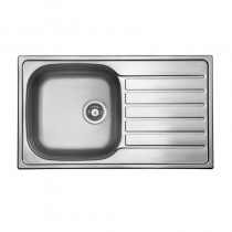Axium 1 Bowl Inset Kitchen Sink Stainless Steel