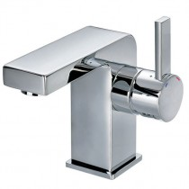 STR8 Basin Mixer with Clicker Waste