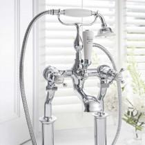 Belgravia Crosshead Floor Standing Bath Shower Mixer