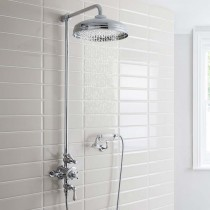 Belgravia Shower with 300mm Head and Handset on Cradle Bracket
