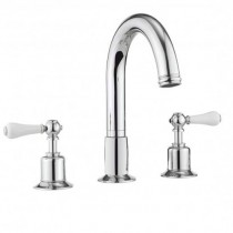 Crosswater Belgravia lever 3 Hole Bath Set