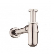Standard Bottle Trap With 400mm Pipe Nickel