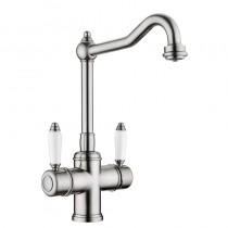 Cassini Mixer and Cold Filter With Swivel Spout Nickel