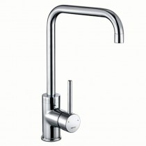 1810 Cascata Square Spout Sink Mixer Chrome