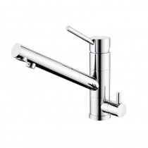 Alpha Mixer and Cold Filter With Swivel Spout Chrome