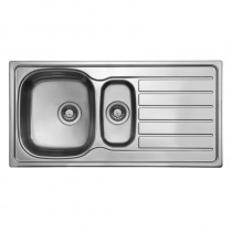 Axium 1.5 Bowl Inset Kitchen Sink Stainless Steel