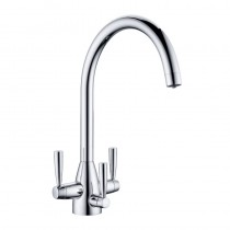 Eclipse Tri-Spa Filter Tap with Swivel Spout Chrome