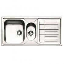 Maggio 1.5 Bowl Inset Kitchen Sink Stainless Steel