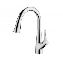 Rosetta Pull Out Spray Filter Mixer Tap Chrome