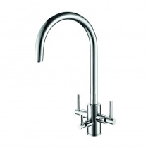 Stella Mixer and Cold Filter With Swivel Spout Chrome