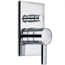 STR8 Concealed Manual Shower Valve with Diverter
