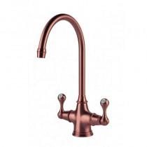 Coriolis Kitchen Mixer Tap - Brushed Copper