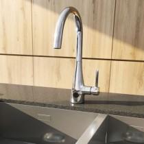 Crosswater Cook Side Lever Sensor Kitchen Mixer
