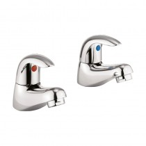 Sky Basin Pillar Taps (Pair)