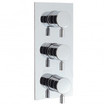 Design Thermostatic Shower Valve 3 Control - Portrait