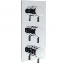 Design Thermostatic Shower Valve with 2 Way Diverter and Shut Off Valve