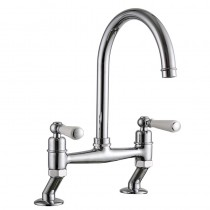 Dephini Bridge Sink Mixer Chrome