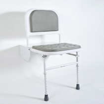 DocM Shower Seat with Legs Blue