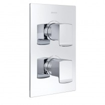 Descent Recessed Shower with Intergral Two Outlet Diverter