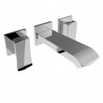 Descent Wall Mounted  Hole Basin Mixer
