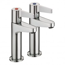 Design Utility Lever High Neck Pillar Taps