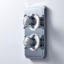 Crosswater Belgravia Crosshead Dual Outlet Digital Shower/Shower HP DUOBLHP