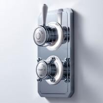 Crosswater Belgravia Lever Dual Outlet Digital Shower/Shower HP DUOBLHP_LV