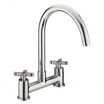 Design Utility X-Head Deck Sink Mixer